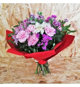 Caixa de Flores Felicidade