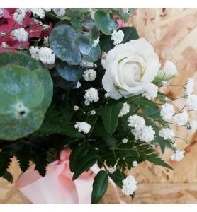 Jarra de Flores Lilazes