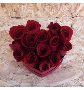 Coração rosado